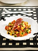 Pisto Manchego (Spanish vegetable stew)