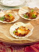Galician-style scallops