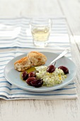 Tzatziki with kalamata olives (Greece)