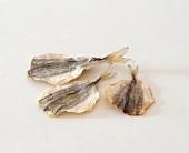 Dried fish (yellow stripe trevally)