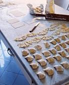 Panzerotti (stuffed Italian pasta pockets)