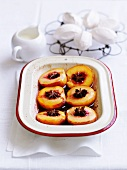 Roasted peaches with star anise