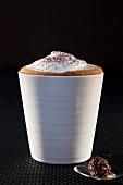 Cappuccino in a mug