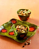 Couscous with nuts and seeds (Ayurvedic cuisine)