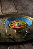 Red lentil dhal (Ayurvedic cuisine)