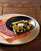 Mungobohnen mit Spinat (Ayurvedische Küche)