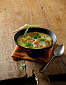 Ayurvedic carrot and coconut soup