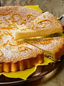Chiffon de naranja (sponge cake with orange juice)