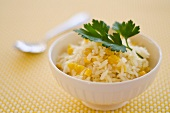 Rice with pineapple and sweetcorn (Caribbean)