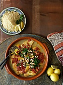 Fish tajine from Morocco