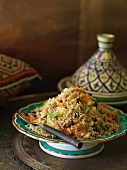 Sweet 'n' sour couscous salad (Morocco)
