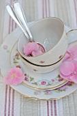 Teatime crockery