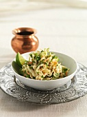 Cabbage salad with limes