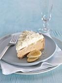 Ein Stück Banoffee-Pie