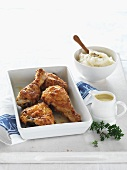 Chicken Maryland (Huhn paniert & gebacken, USA)