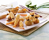 Fried Thai appetizers