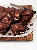 Schokoladen-Pecannuss-Brownies