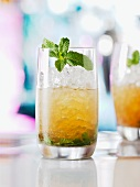 Mini Julep with Grand Marnier