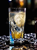 Tonic with Grand Marnier and lemon
