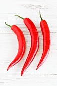 Three red chillies