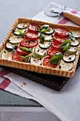 Ricotta and vegetable pie