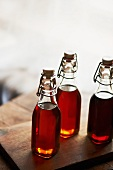 Three Bottles of Maple Syrup