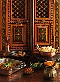Indisches Festtagsbuffet
