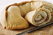 Ciambella rustica campana (stuffed bread, Italy)
