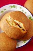 Wheat semolina bread rolls, Morocco