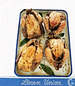 Honey and coarse-grain mustard chicken