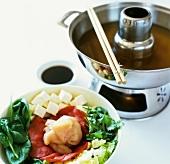 Mongolian fondue