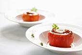Gefüllte Tomaten mit Abalone (China)