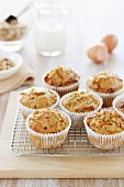 Carrot and cinnamon muffins