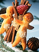 Manalas (bread people) for St Nicholas Day