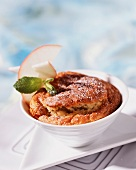 Apple soufflé