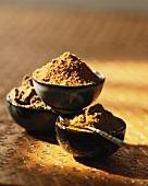 Various masala mixtures (India)