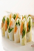Salmon dish roll