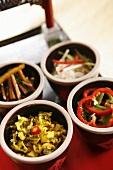 Four kinds of salad