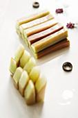 In Essig eingelegte Gurkensticks (China)