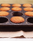 Baked Bran Muffins in a Pan