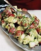 Roasted Heirloom Potato Salad