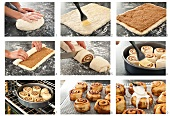 Steps for Making Cinnamon Buns