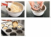 Making Lemon Blueberry Muffins