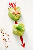 Shrimp fried vegetables