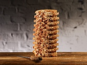 Tall Stack of Multi-Grain Bread