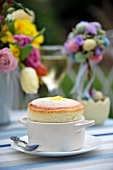 Lemon souffle for Easter