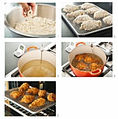 Steps for Making Fried Chicken