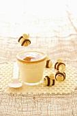 Honey crème brulée