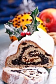 Polish poppyseed stollen for Christmas
