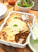 Lasagne with mince beef